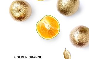 Gold orange fruit