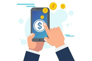 Money transfer using mobile device