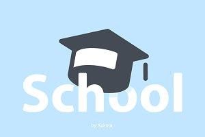 School 72 icons