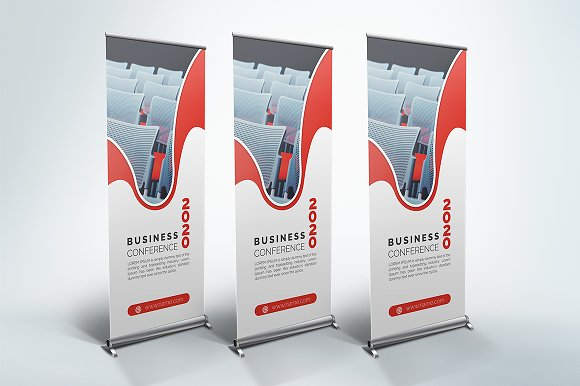 Conference - Roll Up Banner