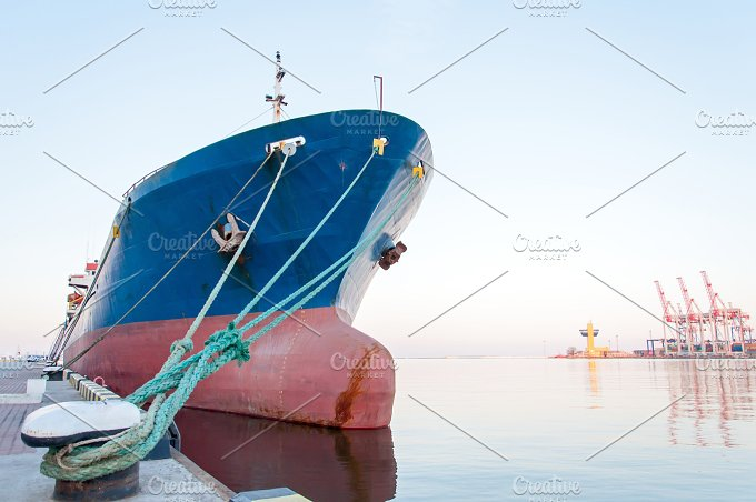 Moored Vessel.JPG - Transportation