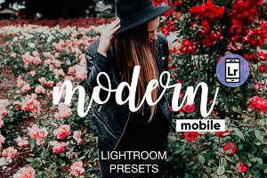 Modern Lightroom CC Mobile Presets