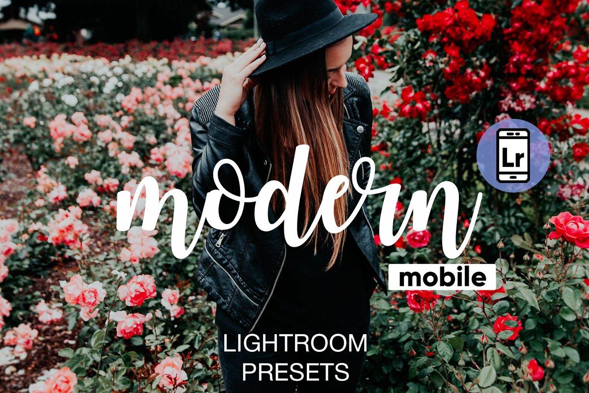 Modern Lightroom CC Mobile Presets ~ Other Design Software