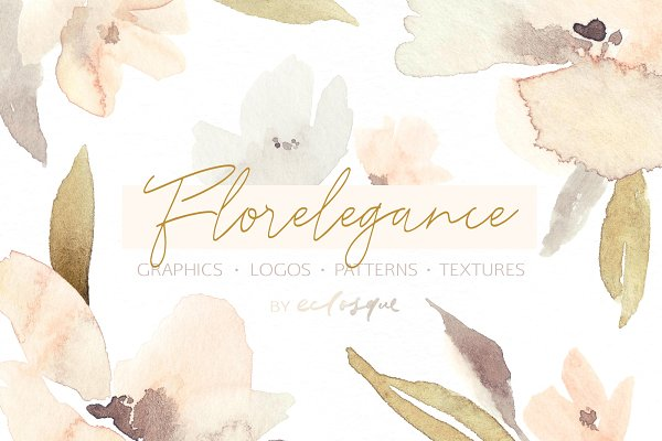 Florelegance Patterns Textures Logo…