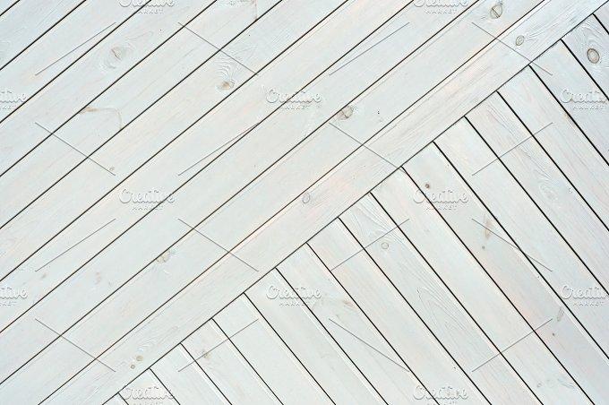 White Diagonal Planks.JPG - Architecture