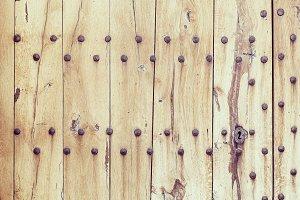 Wooden light boards..
