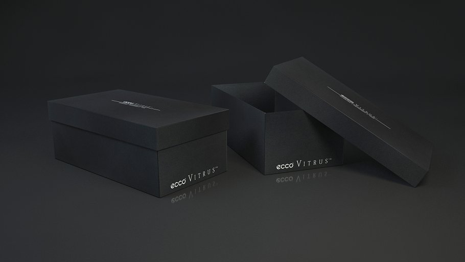 Shoe box ECCO ~ Tool Models ~ Creative Market 88b3ee0cdb04e