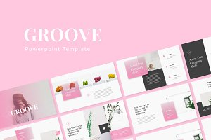 Groove Powerpoint Template