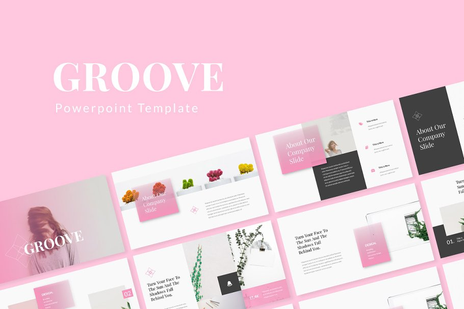 Groove Powerpoint Template Powerpoint Templates Creative
