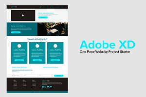 Adobe XD Project Starter