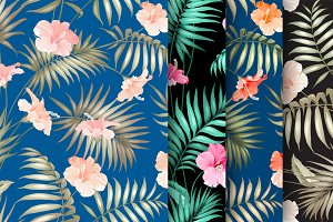 Collection of tropical patterns.