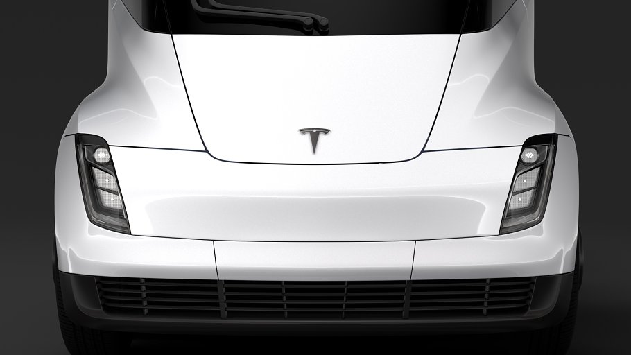 Tesla Semi 4axis 2018