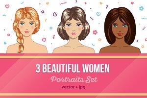 3 Women Portraits