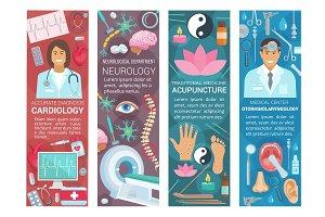 Cardiology, neurology