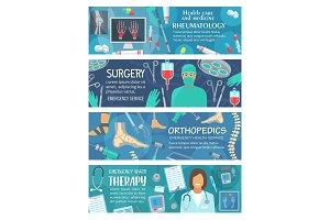 Rheumatology and orthopedics surgery