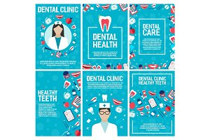 Dental clinic and dentistry brochure