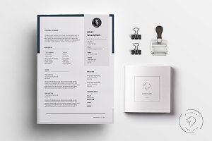 Resume Template Kit - 5 Pages