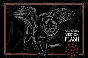 Winged Panther - Flash