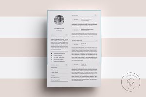 Resume Template for MS Word, 5 Pages