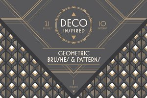 Deco Brushes & Patterns - Vol. 1