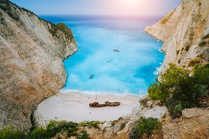 Breathtaking view of Shipwreck