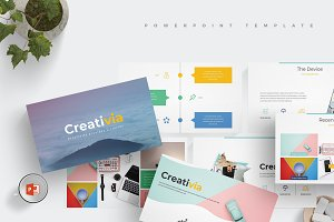 Creativia - Powerpoint Template