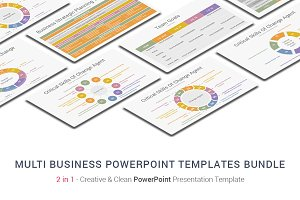 Multi Business PowerPoint Bundle