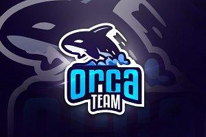 Orca Team - Mascot & Esport Logo
