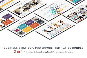 Business Strategic PowerPoint Bundle
