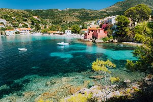 Assos village, Kefalonia Greece