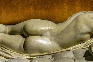 Woman Sculpture Detail