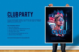 Club Party Flyer
