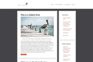 Brainstrom - Responsive Blog Theme