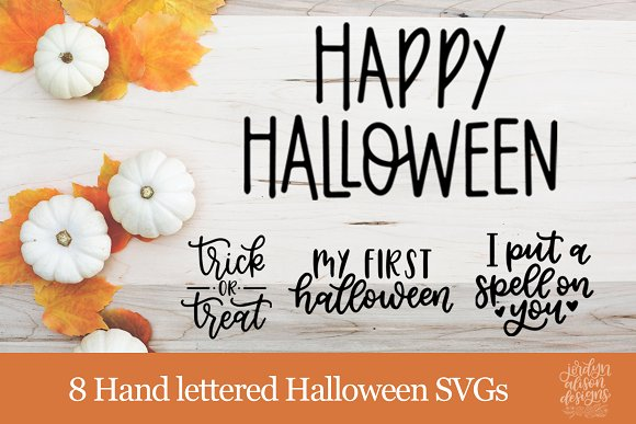 Halloween Cut Files + Photo Overlays