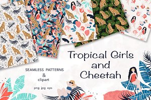 Tropical Girls and Cheetah