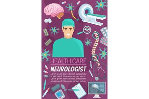 Neurology medicine and medical items