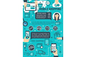 Mobile online shopping and delivery