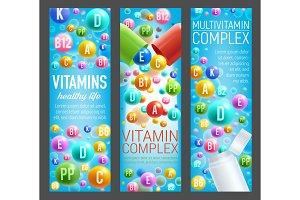 Vitamin and multivitamin pills