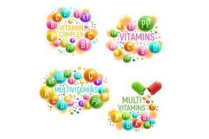 Multivitamin complex with pills