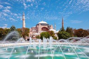 Hagia Sophia museum, Istanbul, Turke