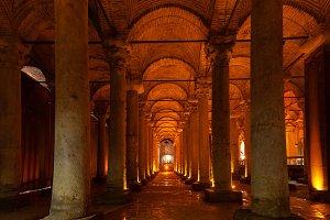 The Basilica Cistern, Istanbul, Turk