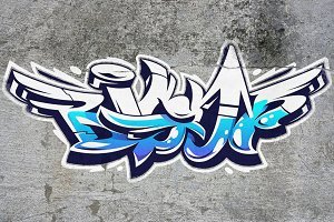 Big Up | Vector Graffiti Lettering
