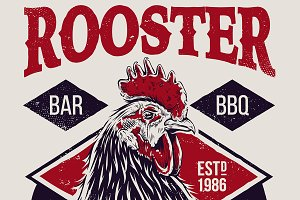 Rooster | Vector Art and Design