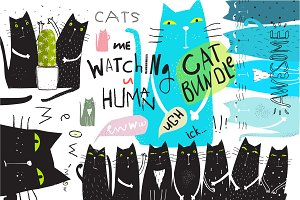Awesome Fun Cats Bundle