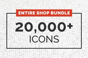 ENTIRE SHOP BUNDLE - 20,000+ icons