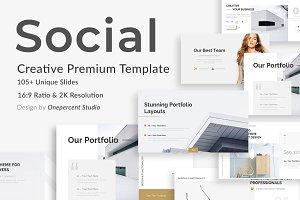 Social Media Trends Design Keynote