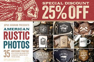 25% OFF American Rustic Photos