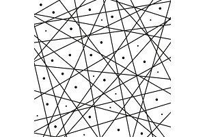 Geometric Vector Abstract Pattern