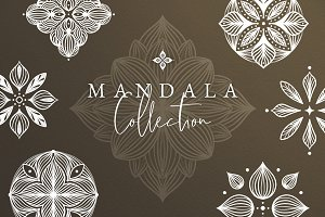 Hand-Drawn Mandala Collection