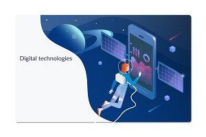 Digital technologies. Digital